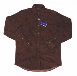 PURPLE LABEL(パープルレーベル)Ralph Lauren/DESIGN SHIRTS[BROWN][通常価格:30,000円]