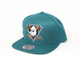 Mitchell&Ness/ANAHEIM MIGHTY DUCKS [20TH ANNIVERSARY TEAM LOGO SOLID/TEAL]