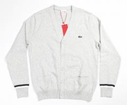 LACOSTE(ラコステ) PIMACOTTON CARDIGAN [H.GREY]