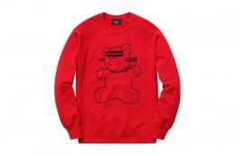 Supreme(シュプリーム)×UNDERCOVER/Pullover Crewneck BOX LOGO[RED]sweat shirtsメンズ ス