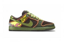 NIKE(ナイキ)/SB DUNK LOW PREMIUM[SAFARI/BAROQUE BROWN-ALTITUDE GREEN]789841-33