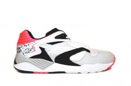 PUMA(プーマ)/TRINOMIC XS 850 PLUS[WHITE-GRAY VIOLET-BLACK]356143-01 メンズ スニーカー