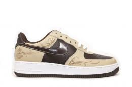"NIKE/AIR FORCE 1 LOW""msiter.cartoon""[LINEN/BAROQUE BROWN-WHITE]307334-221"