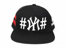 40OZ NYC X BEEN TRILL X KITH NY SNAPBACK  (Black/RED)