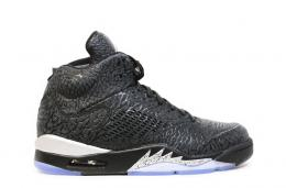 NIKE/AIR JORDAN 3LAB5 [BLACK/BLACK-METALLIC SILVER]599581-003メンズ スニーカー