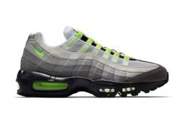 "NIKE(ナイキ)/AIR MAX 95 OG[BLACK/VOLT-MEDIUM ASH-DARK PEWTER]554970-071""イエローグラ"