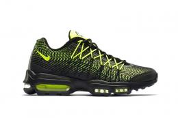"NIKE(ナイキ)/AIR MAX 95 ULTRA JCRD""20th Anniversary""[BLACK/VOLT-DRK GREY-MTLLC"
