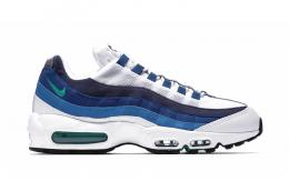 NIKE(ナイキ)/AIR MAX 95 OG[WHITE/EMERALD GREEN-COURT BLUE-NEW SLATE]307960-100