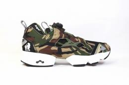 "REEBOK(リーボック)×A APE BY A BATHING APE/PUMP FURY V53879""moonface camo"""
