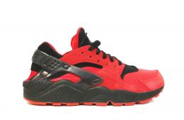 "NIKE(ナイキ)AIR HUARACHE QS""LOVE&HATE PACK""[UNIVERSITY RED/BLACK]700878-600"