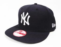 NEWERA(ニューエラ) MLB SNAP BACK CAP/NEW YORK YANKEES[バック:無地]
