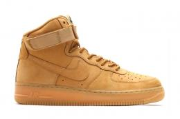 NIKE(ナイキ)/AIR FORCE 1 HIGH '07 LV8[FLAX/FLAX-OUTDOOR GREEN]806403-200 メンズ ス