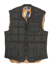 POLO RALPH LAUREN(ポロラルフローレン)/ QUILTING DOWN VEST [olive]